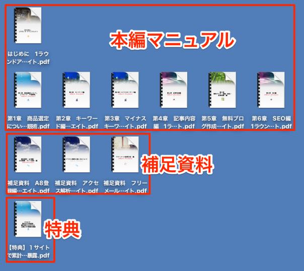 1ラウンドアフィリエイト本編PDF等